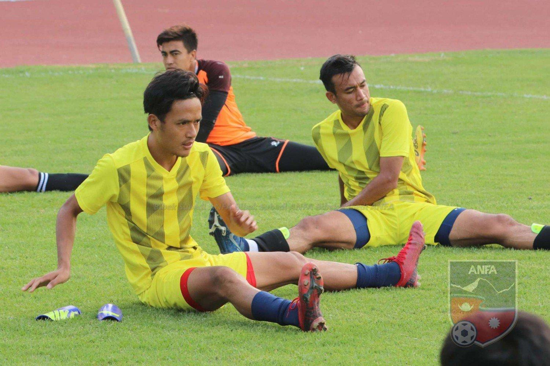 फुटबल टोलीको प्रशिक्षण भदौ १ गतेदेखि