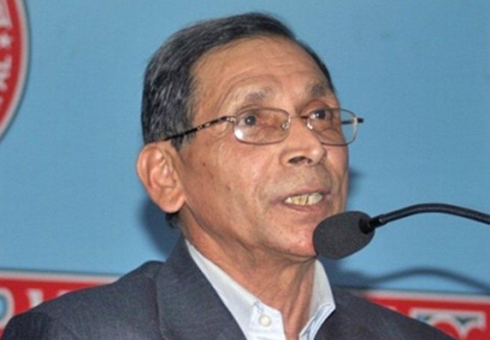 मोहन वैद्यद्वारा सरकारले ल्याएको बजेटको विरोध