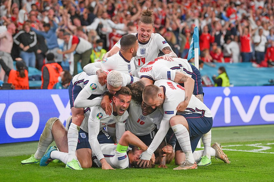 डेनमार्कविरुद्ध पुनरागमन जितसहित इंग्ल्याण्ड पहिलो पटक युरोकपको फाइनलमा