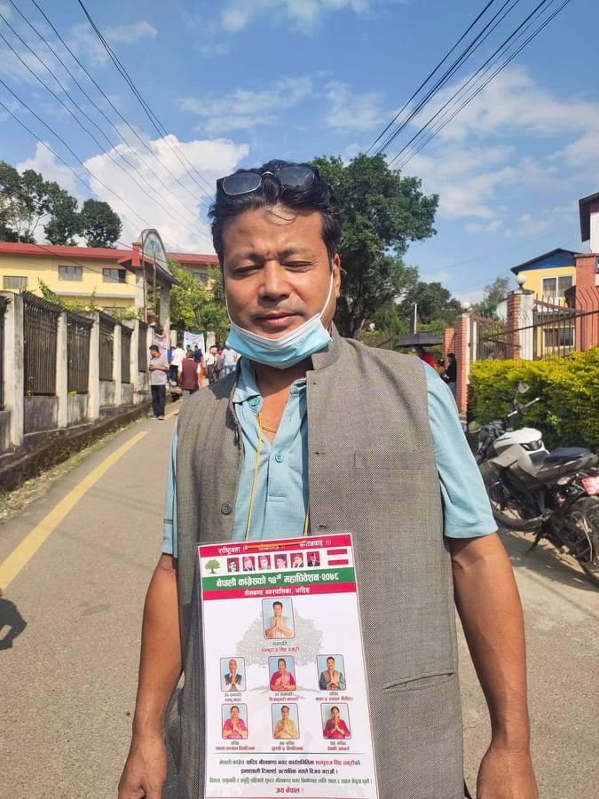 कांग्रेसको नीलकण्ठ नगर सभापतिमा शम्भुराज सिंह ठकुरी बिजयी