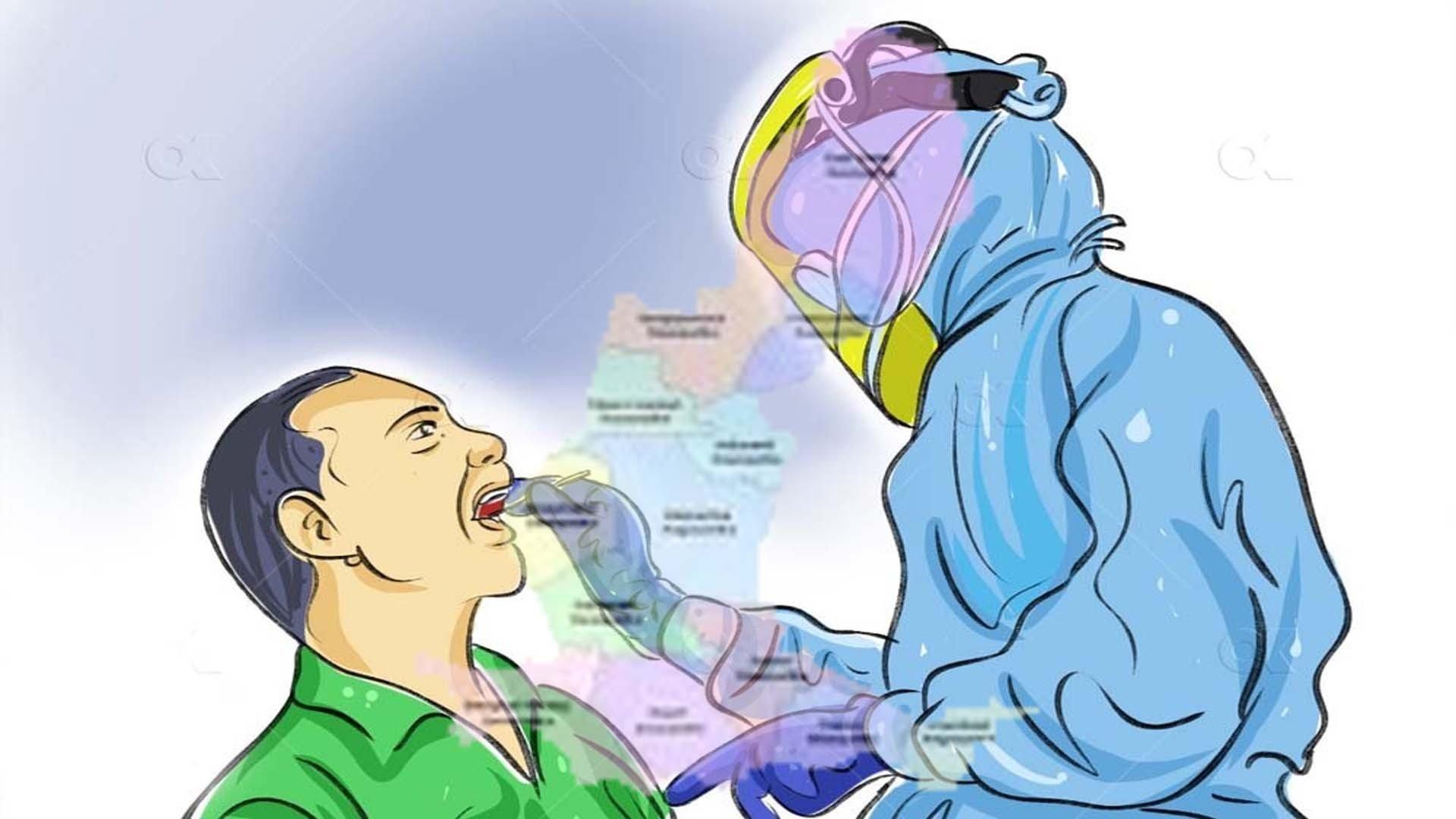 ज्वालामुखीका एक जनाको कोरोना पोजिटिभ,सक्रिय संक्रमित १०